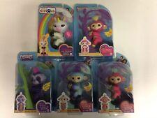 Fingerlings Lot Of 5: Ava Sloth Gigi Melon Bella (New, Slightly Worn Boxes)