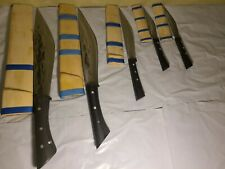 Knife Set of 5- 4 different sizes Riam Hmoob - TheHmongMarket handmade knives