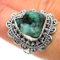 Green Tourmaline 925 Sterling Silver Ring Size 7.25 Ana Co Jewelry R43254F