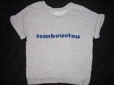 CLAUDIE PIERLOT Sweat-Shirt Motif TOMBOUCTOU Manches Courtes T.1 (34/36)