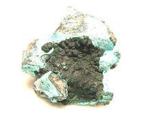 Malachite chrysocolla specimen Congo 2.2x2 inch lib48
