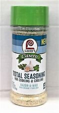 Lawry's Casero Total Seasoning for Cooking & Grilling Sazon A Mas Lawrys 10.75oz