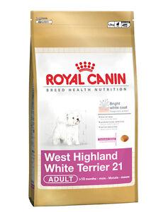 Royal Canin Westie West Highland Terrier Natural Adult Dry Dog Food 1.5kg