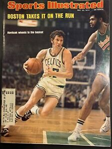 Sports Illustrated May 20 1974 John Havlicek Boston Celtics Kareem Abdul