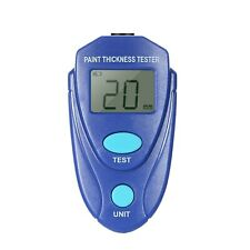 Paint Thickness Tester Professional Gauge Digital Coating Meter With Lcd Disp C0