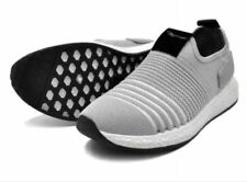 Tanggo F12 Fashion Korean Mesh Shoes Light Breathable Slip-On GREY SIZE 40