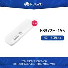 Unlocked Huawei E8372h-155 4G USB WiFi Modem FDD BANS 1/3/5/7/8/20 TDD38/40/41