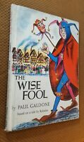 The Wise Fool by Paul Galdone (1968, Hardcover) Vintage RARE