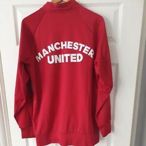 Adidas Man Utd Manchester United Training Tracksuit Jacket Top large full zip
