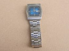 "RARE JAPAN MEN'S WATCH ""SEIKO""5 TV DIAL 6119-5440/DAY-DATE WORKS,21 J"