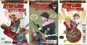 Star-Lord and Kitty Pryde Secret Wars: BattleWorld #1-3  Marvel (2015) VF/NM