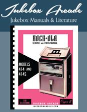 Rock-Ola 414 Capri II Service Manual, Parts Catalog in COLOR from Jukebox Arcade