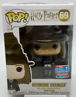 Hermione Granger Pop #69 w/Hat Funko 2018 Fall Convention Excl NYCC w/ Protector
