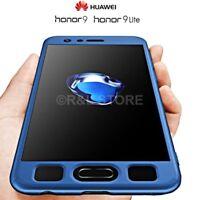 COVER per Huawei Honor 9 / Lite Custodia FRONTE RETRO 360° ORIGINALE ARMOR Case