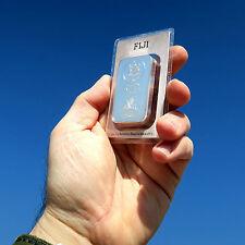 Fiji Argor Heraeus 100 Gramm Silberbarren Münzbarren 999 Silber mit Zertifikat