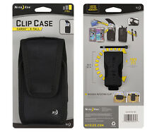 Niteize Vertical J Clip Heavy Duty Case fits Motorola G4,E4,G5 with a cover