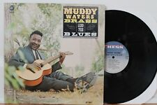 """Muddy Waters LP """"Brass & Blues"""" ~ Chess 1507 ~ Orig MONO ~ Very Clean"""