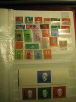Briefmarken Bund BRD Jahrgang 1968 postfrisch komplett