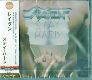 RAVEN-STAY HARD-JAPAN CD Ltd/Ed D73