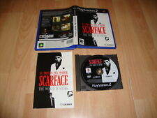 SCARFACE EL PRECIO DEL PODER THE WORLD IS YOURS PARA LA SONY PS2 USADO COMPLETO