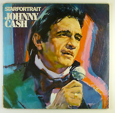"""2 x 12"""" LP - Johnny Cash - Starportrait - B4138 - washed & cleaned"""