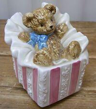 Music Box Otagiri Present Bow Let me Be Your Teddy Bear
