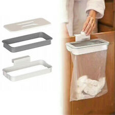 Hanging Garbage Bag Holder Rubbish Rack Cupboard Cabinet Storage Trash Hanger