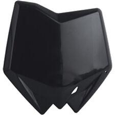 Polisport Front Number Plate Black for Husqvarna 8658200001
