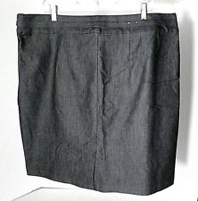 Gap Gray Denim  Jeans Skirt Women's Size 20 NWOT