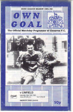 1991/92 Glenavon v Linfield - Irish League - 18th Apr - Vol 10 No 29