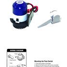 Shoreline Marine Bilge Pump With Float Switch 800 Gph