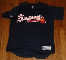 Deion Sanders Atlanta Braves #24 Majestic Medium Printed Jersey ~ Vintage?