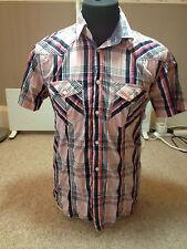 Jack & Jones Casual  Shirt Multi Check  Adult  Medium (V 616)