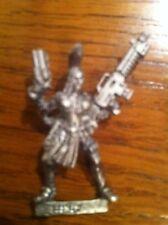 Necromunda Escher Ganger With Autogun And Stub Pistol Metal Warhammer 40k OOP