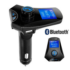 Bluetooth Car Kit MP3 Player FM Transmitter Wireless Radio Adapter USB Ladegerät