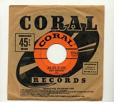 "BILLY WILLIAMS - DATE WITH THE BLUES / 45 RPM 7"" VINYL SINGLE / 1957 CORAL"