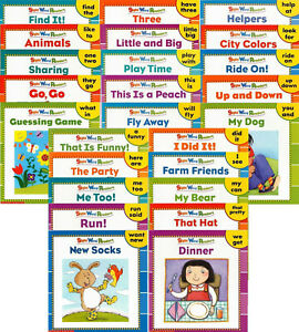 Sight Word Readers Learning to Read Childrens Books Kindergarten Lot 25 pre K