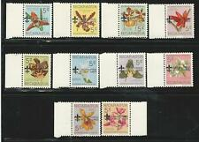 Nicaragua: Scott 834-852 orchids with overprint camporee scout 1965,mint NH.NI05