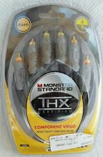 New Monster Standard THX Certified Component High Quality S Video Cable 4 Ft DVD