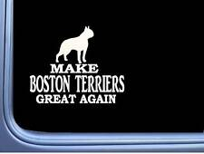 "Boston Terrier Maga L732 Dog Sticker 7"" decal"