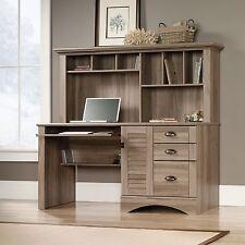 Computer Desk With Hutch - Salt Oak - Harbor View Collection (415109)