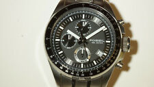 Fossil Black Dial & White Accents Men's Sport Watch Chronograph CH-2600
