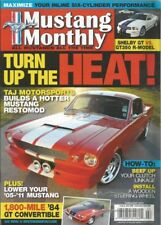 MUSTANG MONTHLY 2011 FEB - MONROE HANDLER, PLAYBOY PINK '67, HOT 6