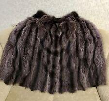 Real Fur Vest Waistcoat Gillet  women's