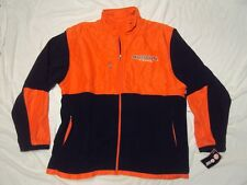 Auburn Tigers Fleece Jacket Med Weight Adult Size Xl New With Tags!