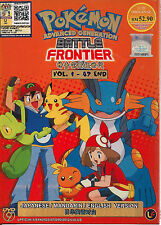 POKEMON ADVANCED GENERATION: BATTLE FRONTIER VOL.1-47 JAPANESE ANIME DVD BOX SET
