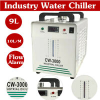 AC110V, 60Hz CW-3000 Thermolysis Industrial Water Chiller for Laser Engraver 9L