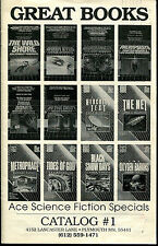 Great Books Sales Catalog #1-1980's Ace Science Fiction Specials-1997