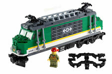 LEGO® City Eisenbahn Elektro Lok grün NEU aus Güterzug 60198 ohne Powered Up