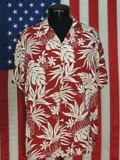 Rare VTG Made Hawaii Hawaiian Shirt Aloha Floral Tropical L Paradise Found Rayon